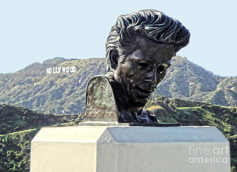 Gregory Dyer - James Dean Statue at Griffith Park Observatory