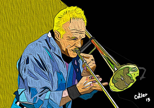 James Pankow Chicago The Band Series #1 by GR Cotler