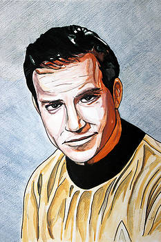 James T. Kirk by Rob Merriam