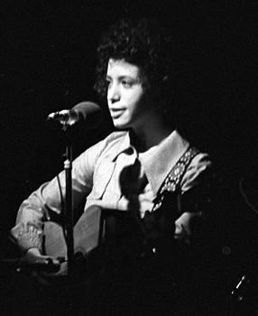 Janis Ian On Stage 1960s by Glenn McCurdy
