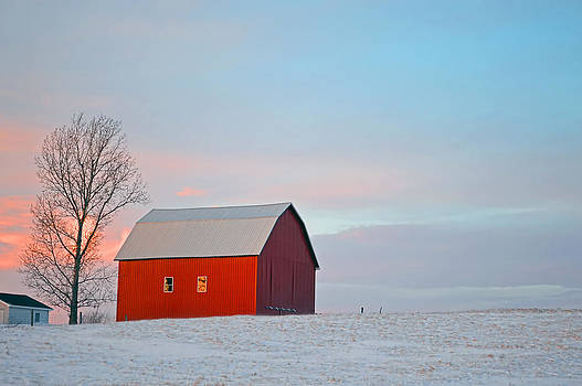 January barn by Mark Orr