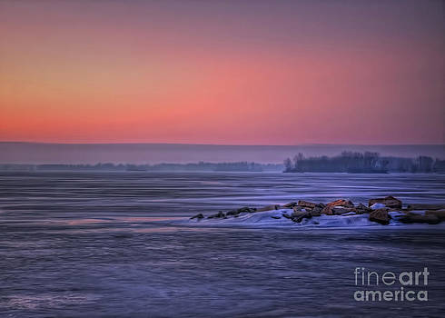 January Sunrise by Pamela Baker