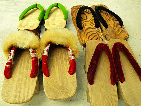 Japan Traditional Geta by King Wells