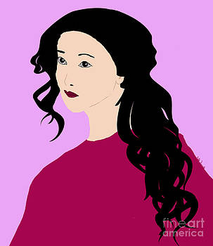 Kate Farrant - Japanese Beauty in pink