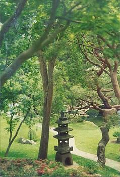 Japanese Garden by Robert Bray