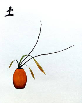 Japanese Ikebana Feung Shui Earth by Gordon Lavender