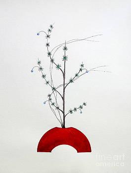 Japanese Ikebana Shoka Style by Gordon Lavender