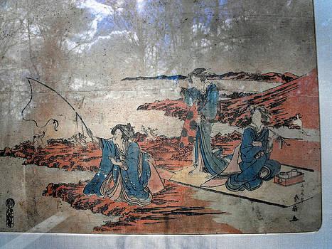 Japanese woodblock print by Katsukawa Shunsen by Katsukawa Shunsen