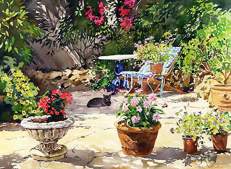 Jardin Las Negras by Margaret Merry