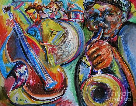 Jazz Colors by Emily Michaud
