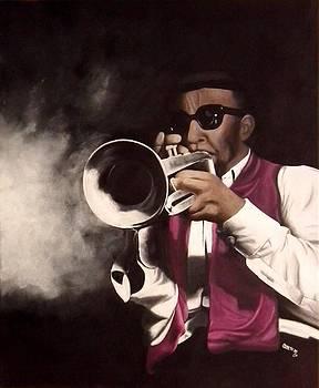 Jazz III by Lisbeth M Sandvik