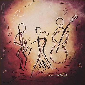 Jazz it... by Lisbeth M Sandvik