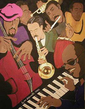 Jazz Jam Session by Lynn Darnelle