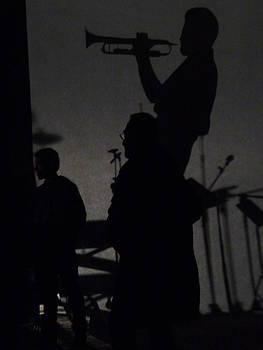 Jazz Shadows by Bill Mock