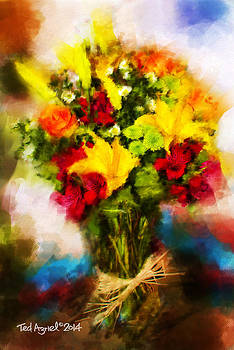 Je T'aime Bouquet by Ted Azriel