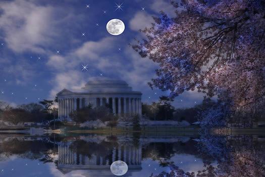 Jefferson Memorial by David Simons