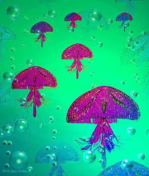 Joyce Dickens - Jellyfish  The Gathering