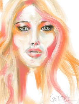 Jennifer Lawrence by Go Van Kampen