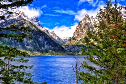 Jenny Lake by Michael Pickett