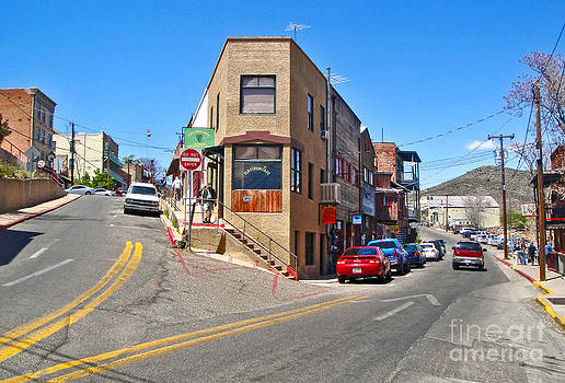 Gregory Dyer - Jerome Arizona - Flatiron Cafe - 01