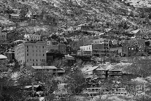 Jerome AZ New Year's Snow by Ron Chilston