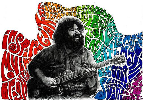 Jerry Garcia by Callie Fink