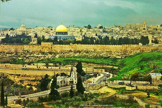 Jerusalem Eastern Gate by Aaron Bodtcher