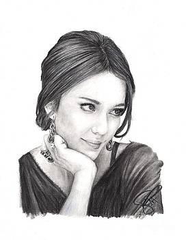 Jessica Alba by Rosalinda Markle