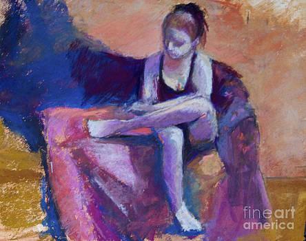 Jessica sitting by Joyce A Guariglia