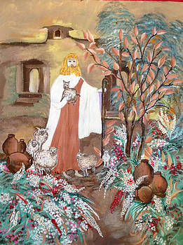 Jesus # 1. Tree of life by Sima Amid Wewetzer