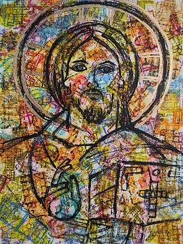 Jesus Christ - Pantocrator by Adel Nemeth