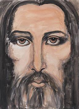 May Ling Yong - Jesus portrait 2