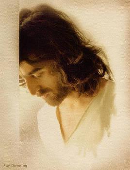 Jesus Praying by Ray Downing
