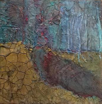 Jeweled Forest - SOLD by Mary Jean Henke