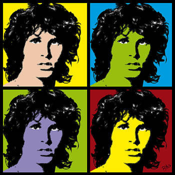 Jim Pop Art by Bitta