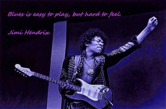 Jimi Hendrix BLUES by Robert Rhoads