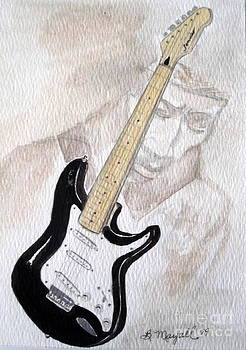 Jimi Hendrix by Brenda Mayall