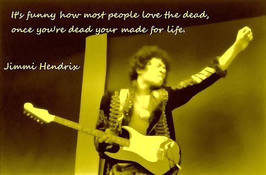 Jimi Hendrix LIFE by Robert Rhoads