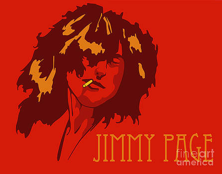 Jimmy Page by Patrick Collins