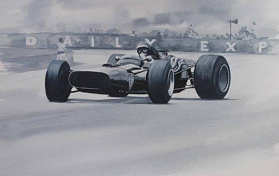 Jochen Rindt     Cooper by Steve Jones