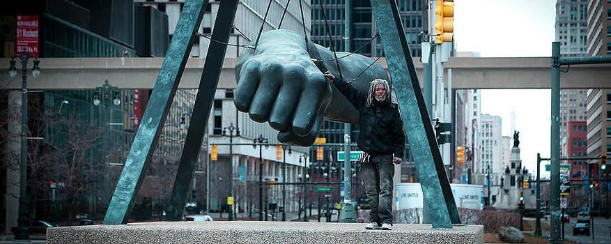 Joe Louis Fist by Daniel Mercadante