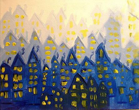 Joes Blue City by Joseph Hawkins