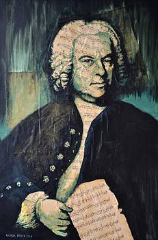 Johann Sebastian Bach by Victor Minca