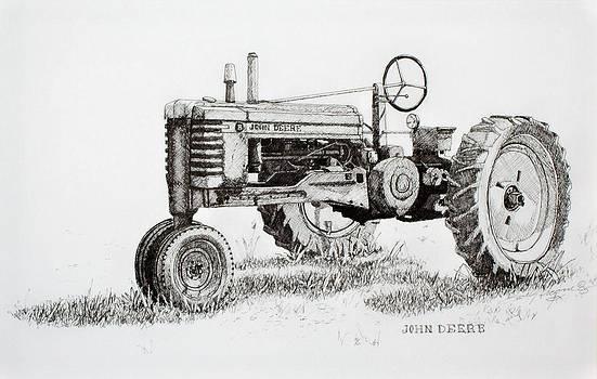 John Deere Awaiting Restoration by Scott Alcorn
