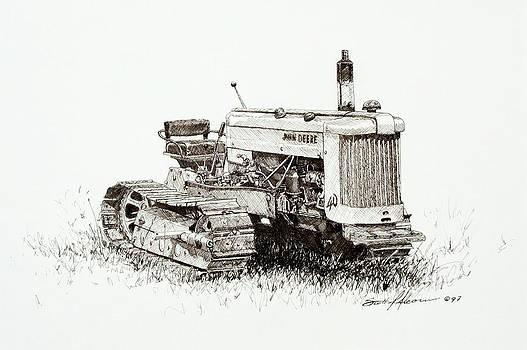 John Deere Crawler by Scott Alcorn