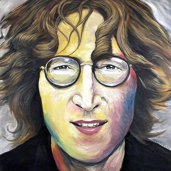 John Lennon Imagine by Mike Underwood
