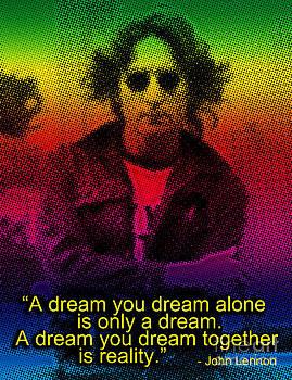 John Lennon Poster  by Theodora Brown