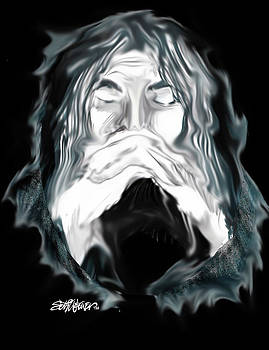 John the Baptist Praying by Seth Weaver