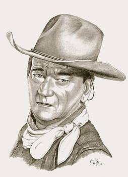 John Wayne by Patricia Hiltz