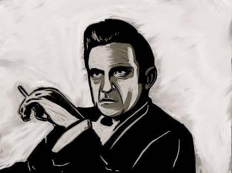 Johnny Cash by Jeff DOttavio